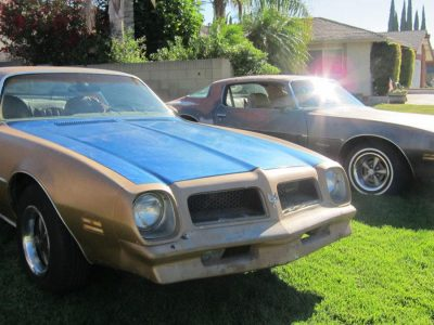 Pat McKinney owned 1970 Firebirds
